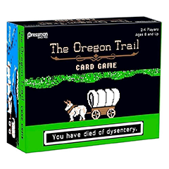 Photo of Oregon Trail card game