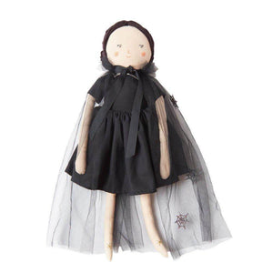 Luna Witch Fabric Doll