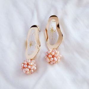 Queen Anne's Lace -  Pink Pearl - Gold