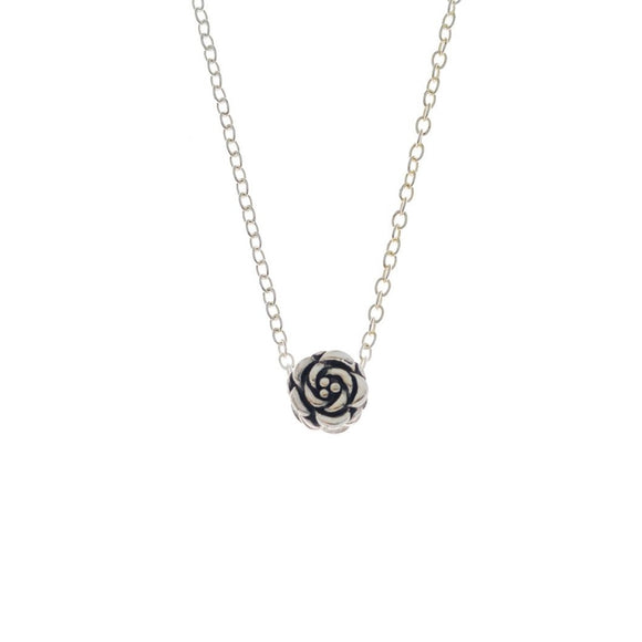 Oxide Rose Necklace, Necklace - Blaack Fox
