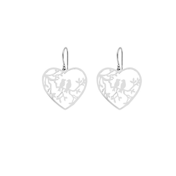 Love Bird Hook Earrings