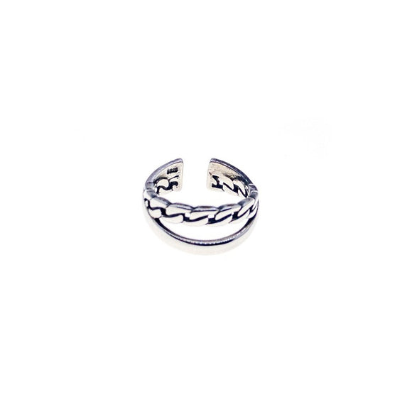 Felix Chain Layered Adjustable Ring