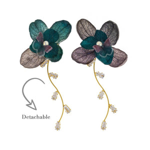 Romance Earrings - Emerald
