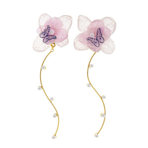 Romance Earrings - Pastel/Gold