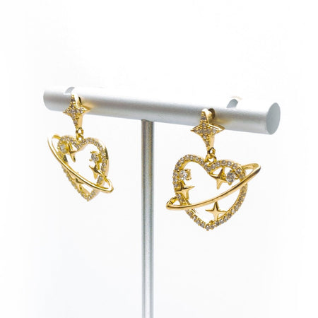 Star Love Galaxy Drop Earrings