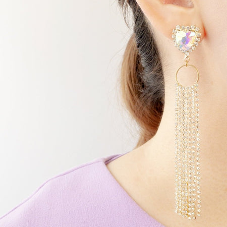 Love Waterfall Earrings