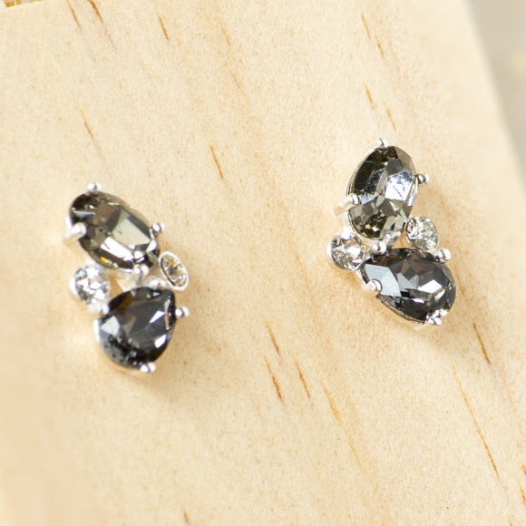 Rio Black Swarovski Earrings