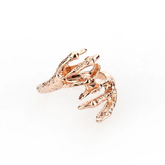 Viserion Ring - Rose Gold
