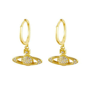 Vivien Small Hoop Earrings - Gold