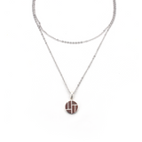 Woody Long Necklace - Blaack Fox