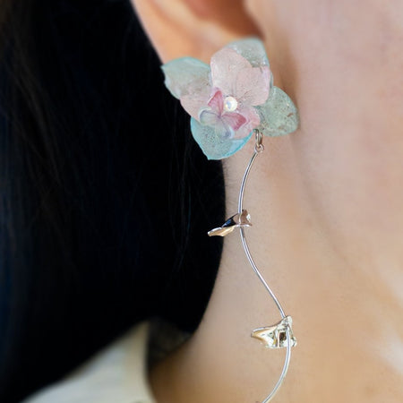 Romance Earrings - Sky