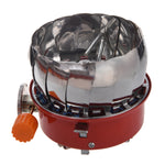 Windproof Stove Cooker Cookware Gas Burner for Camping Picnic Cookout BBQ