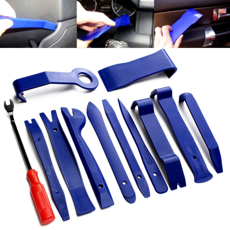 Universal Panel Removal Open Pry Tools Kit 12pcs Car Dash Door Radio Trim Set