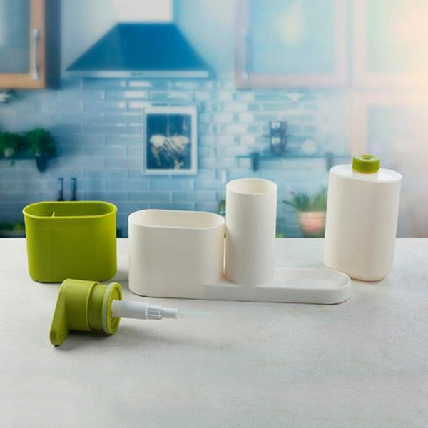 1 pcs Multifunctional Washing Sponge Storage Sink Detergent Soap Dispenser Storage Rack Hand Sanitizer Bottle Kitchen Storage Rack