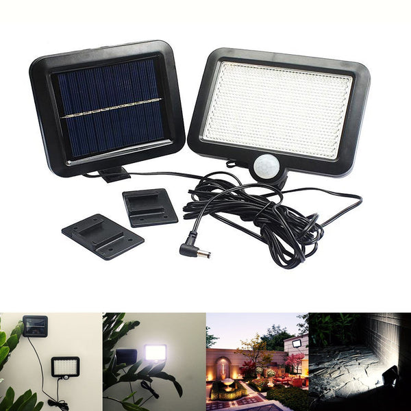 56LED Outdoor Solar Power Motion Sensor Light Garden Security Lamp Waterproof