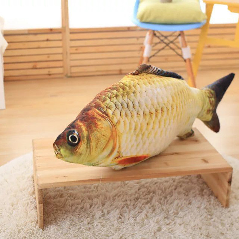 Big Fish Shape Decorative Cushion Throw Pillow with Inner Home Decor Cartoon Sofa Toys Sleeping Pillow