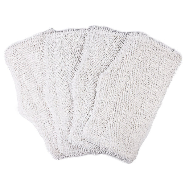 4 Pack Washable Cleaning Pads Replacement for Shark Steam & Spray Mop SK410 SK435CO SK460 SK140 SK141 SK115 S3101 S3102 S3250 S3251