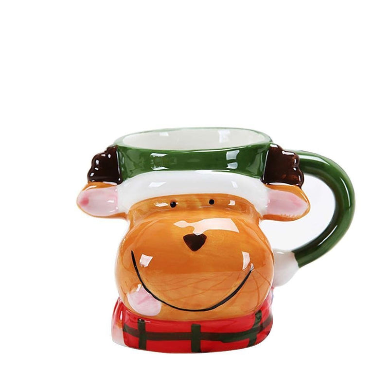 Vessel Christmas cartoons ceramic cups milk coffee cups water cups