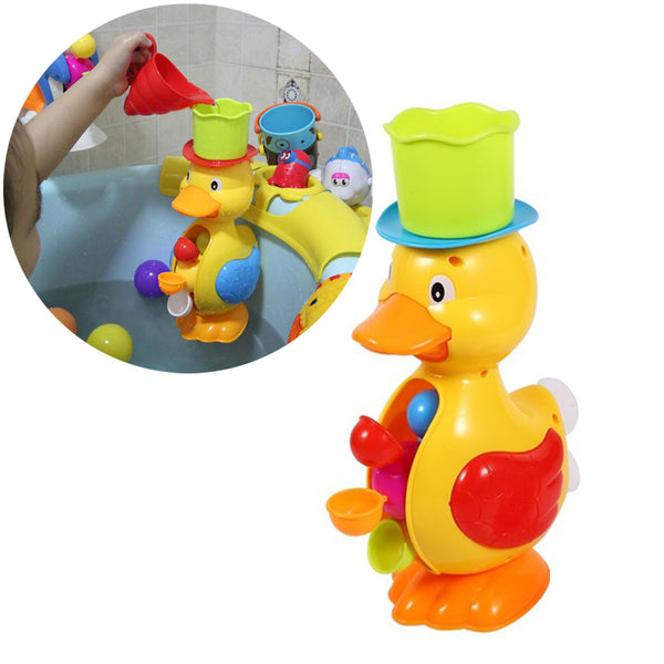 1Pcs Bathroom Baby Kids Toddler Bathing Water Spraying Tool Bath Bathtub Duck Toys