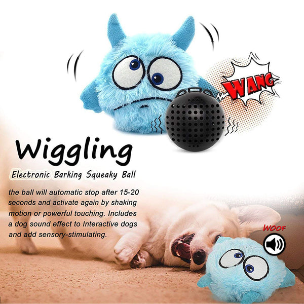 Dog Toys for Bored Dogs, Dog and Puppy Plush Squeak Toys, Best Interactive and Chew Dog Toys, for Training,Interactive,Educational,Boredom, Perfect for Small Medium Large Dogs