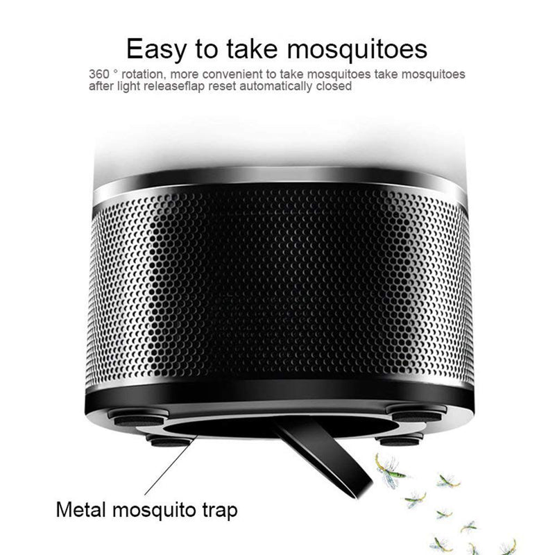 Mosquito Killer Lamp,Bug Zapper,Electronic Insect Killer, USB Powered LED Mosquitoes Catcher Killer Trap, Chemical-free and Non-toxic Mosquito Trap Light for Home/Bedroom/Kitchen