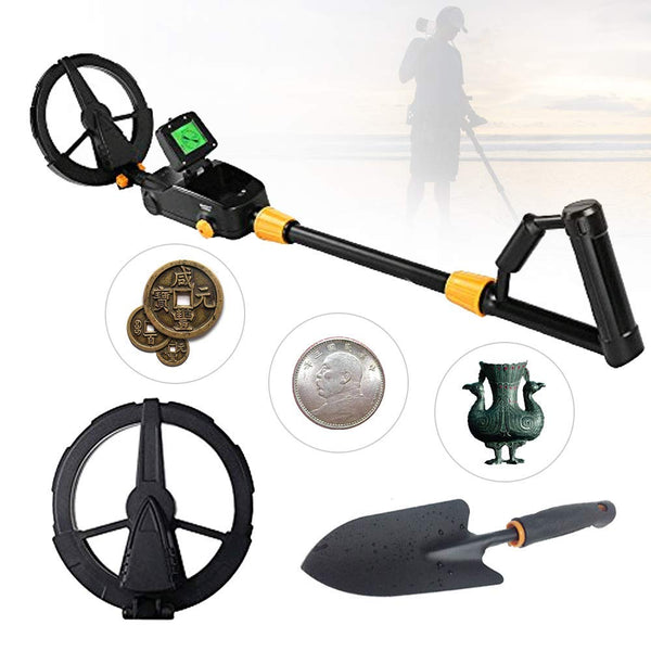 Metal Detector MD-1008A Advanced Kid's Gold Finder Treasure Hunter Pro Detector