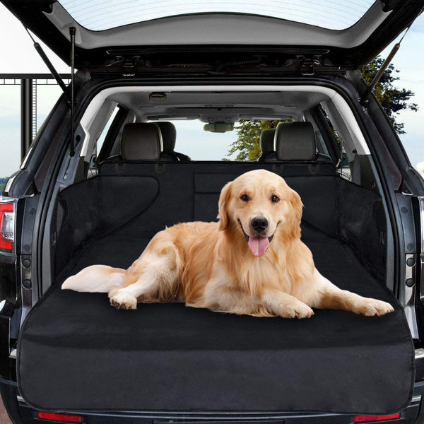 Dog Trunk Protector Dog Waterproof Trunk Cover For Dogs Car Universal Dog Protective Cover With Side Guard Protective Cover For Trunk Anti-Slip Wear Resistant