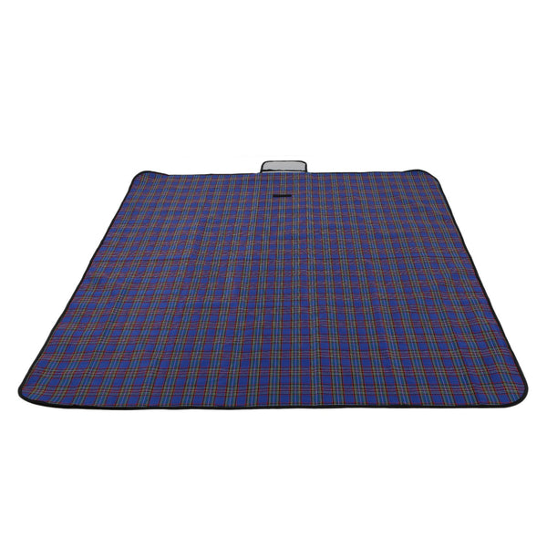 Outdoor Beach Picnic Folding Camping Mat Waterproof Sleeping Camping Pad Mat Moistureproof Plaid Blanket