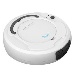 1800Pa Multifunctional Smart Floor Cleaner,3-In-1 Auto Rechargeable Smart Sweeping Robot Dry Wet Sweeping Vacuum Cleaner Strong Suction Robot Cleaner For Home Office