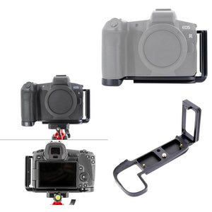 Quick Release L Plate Holder Hand Grip Tripod Bracket For Canon Eos R Camera For Benro Arca Swiss Tripod Head