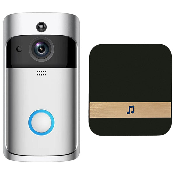 Smart Wifi Security Door With Visual Recording Low Power Remote Home Monitoring Night Can Also Be Video Door Phone Us Plug
