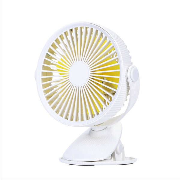 Usb Rechargeable Desktop Clip Fan Student Learning Multi-Functional Dormitory Portable Fan