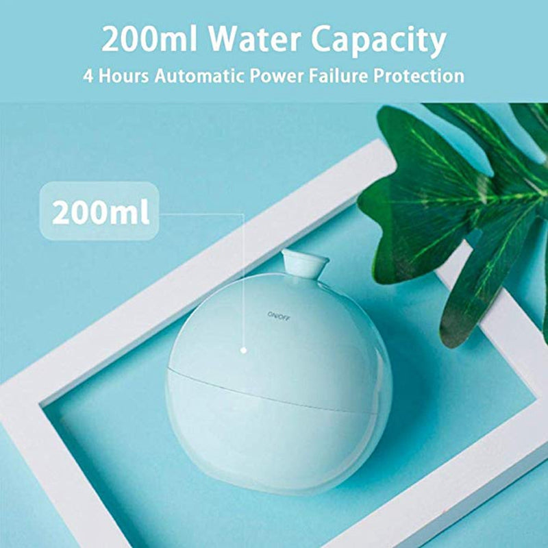 Mini Balloon Usb Air Humidifier Aroma Diffuser Water Mist Maker For Home Car Ultrasonic Humidifier Diffusers White