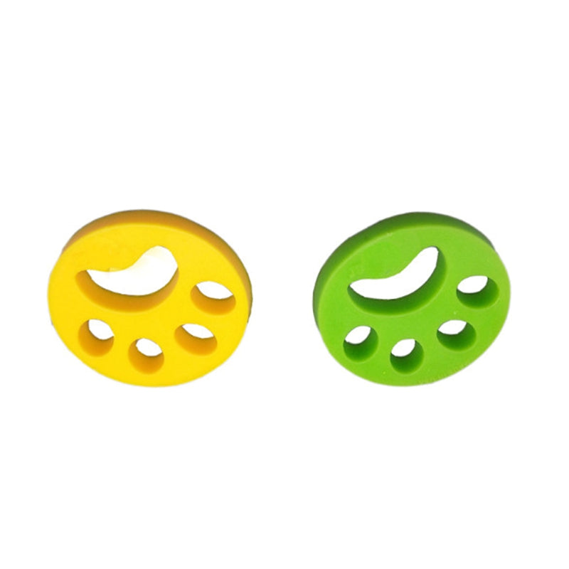 Fur Hair Remover Cleaning Ball Sticky Hair Washing Machine Pet Hair Slider Clothing Hair Remover Green/Yellow