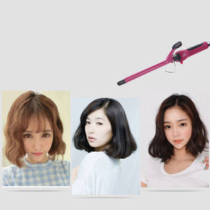 13mm Professional Hair Curling Iron Ceramic Hair Curler Quick Heat Curling Hair Waver Styling Tool 80~210 Led EU Plug