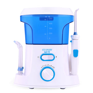 Guanshi Fc168 2In1 Dental Flosser Oral Dental Irrigator Water Flosser Dental Floss Water Floss Tooth Pick Dental Water Jet Oral Irrigation For Tooth Nose Cleaning Eu Plug