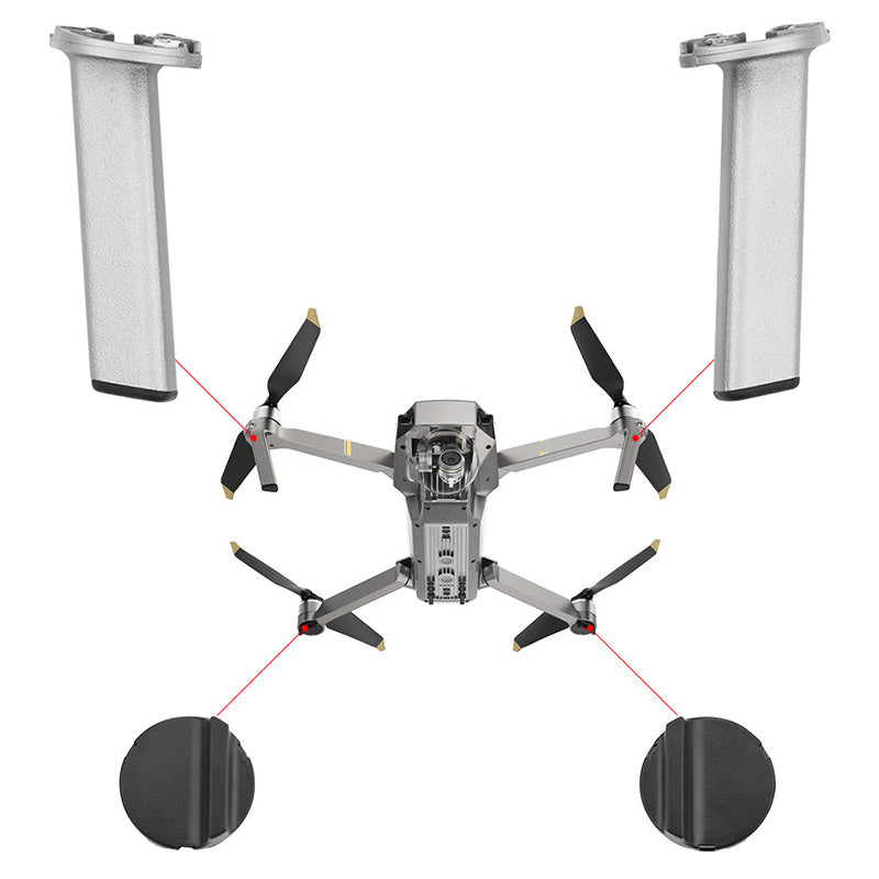 Platinum Version Of The Landing Gear Front And Rear Bracket Left And Right Front Leg Repair Drone Accessories