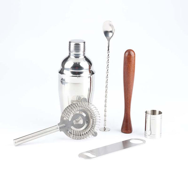 550Ml Stainless Steel Cocktail Shaker Bar Set Bartender Kit Wine Martini Mixer Boston Shaker For Party Bar Tool
