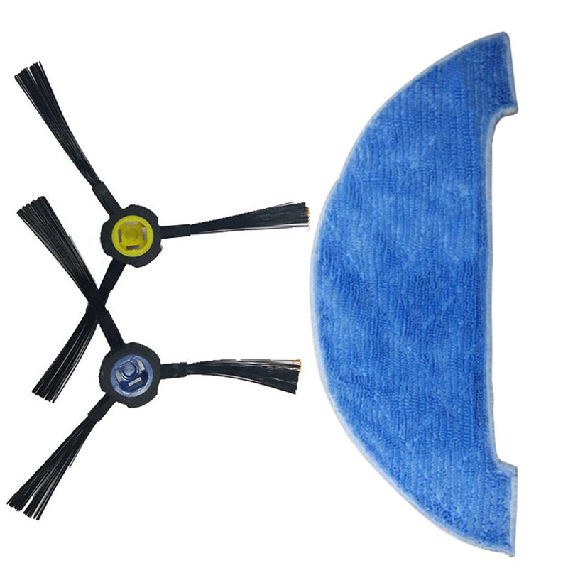 Side Brush+Filter+Mop Cloth For Ilife V8 V8S X750 A7 X800 X785 Vacuum Cleaner