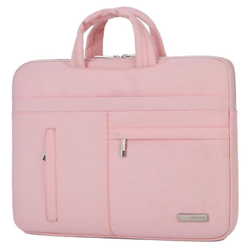 Biaonuo Man Felt Notebook Laptop Sleeve Bag Pouch Case For Acer Dell Hp Asus Lenovo Macbook Pro Reitina Air Xiaomi (Pink)