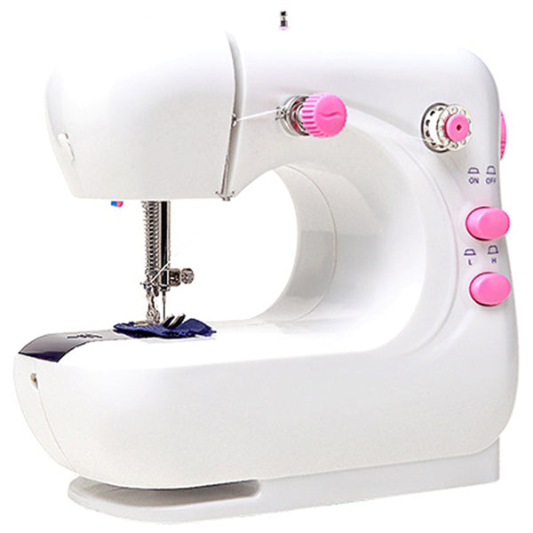Mini Portable Handheld Sewing Machines Stitch Sew Needlework Cordless Clothes Fabrics Sewing Machine Stitch Set Eu Plug