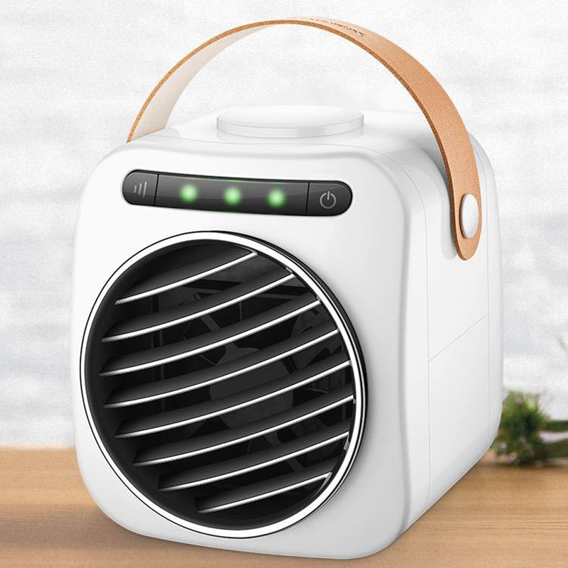 Usb Mini Portable Air Conditioner Humidifier Purifier Led Digital Temperature Display Desktop Air Cooling Fan Air Cooler Fan For Office Home