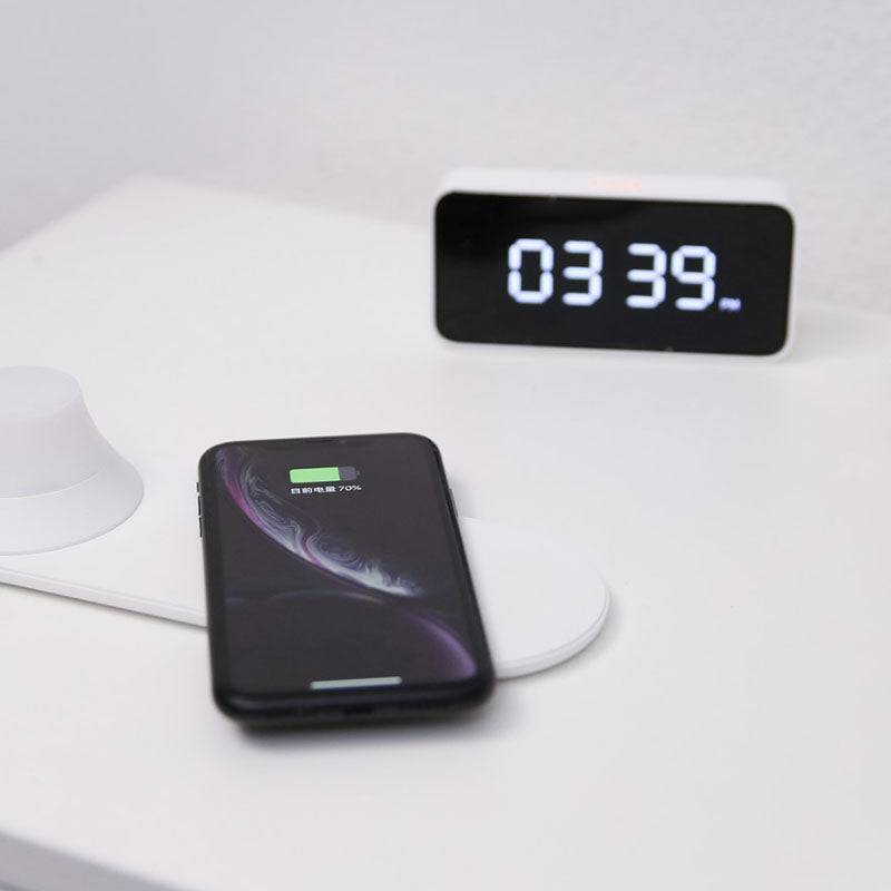 Yeelight Wireless Charger Led Night Light Magnetic Attraction Fast Charging For Iphones Samsung Huawei Xiaomi