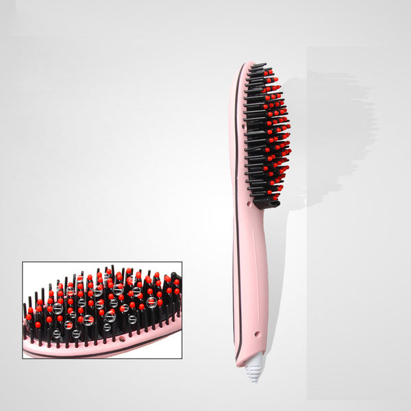 Ufree Uf-6290 Lcd Display Hair Brush Fast Hair Straightener Comb Hair Electric Brush Comb Irons Auto Straight Hair Comb Brush Eu Plug