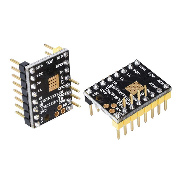 3D Printer Part Tmc2130 V2.0 Spi Motor Driver With Heat Sink And Use Gold Deposition Technology Pcb Board Suitable For Mks Gen V.4/Mks Gen L/Skr Board