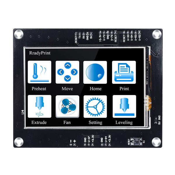 3D Printer Parts Tft35 V1.2 Press Screen Display 3.5 Inch Reprap Smart Controller Panel Compatible With Mks Gen V1.4 Control Board