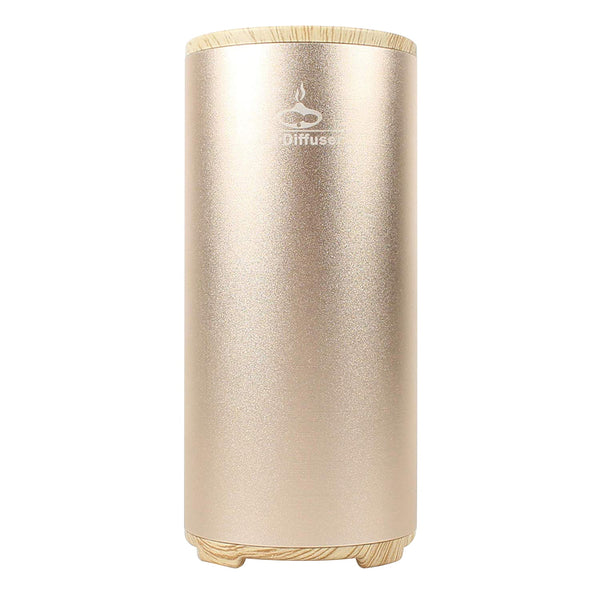 Gx Diffuser Mini Usb Ozone Air Purifier Portable Air Cleaner Ozone Generator Fresh For Family Cars, Golden,Refrigerator, Shoe Cabinet,Closet