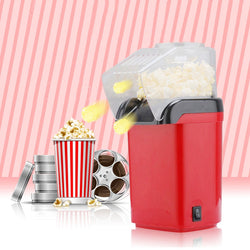 1200W Mini Household Healthy Hot Air Oil-Free Popcorn Maker Machine Corn Popper For Home Kitchen