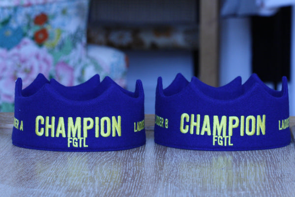 FGTL tennis champion crowns