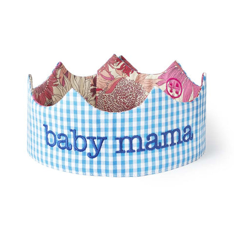 baby mama reversible crown version 1 boy side